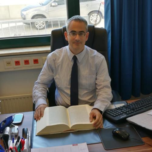 Rechtsanwalt Erik Jahn in der Kanzlei